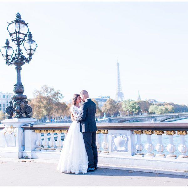 WEDDING SHOOT à Paris